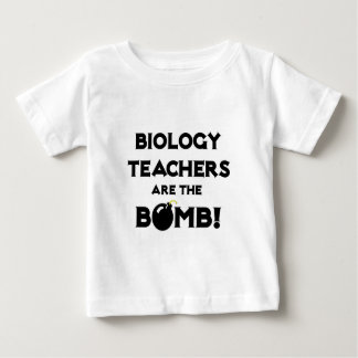 Biology Teachers Are The Bomb! Baby T-Shirt