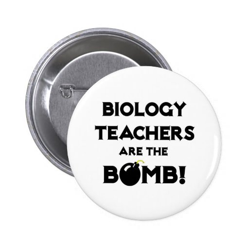 Biology Teachers Are The Bomb! Pin