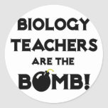 Biology Teachers Are The Bomb! Stickers