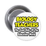 Biology Teachers...Cool Kids of Edu World Buttons