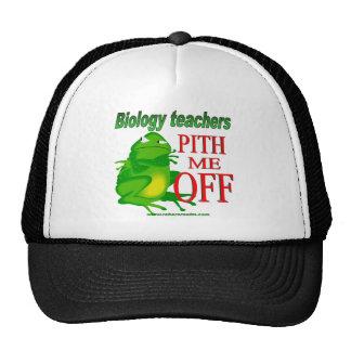 Biology teachers pith me off trucker hat