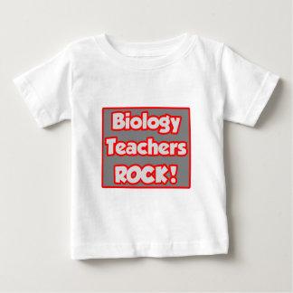 Biology Teachers Rock! Baby T-Shirt