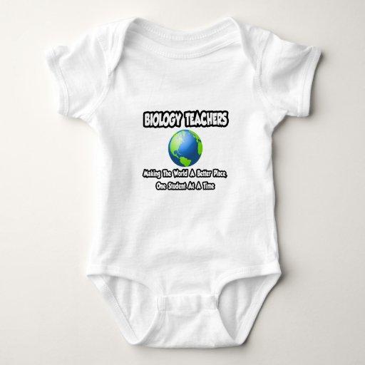 Biology Teachers...World a Better Place Tee Shirt