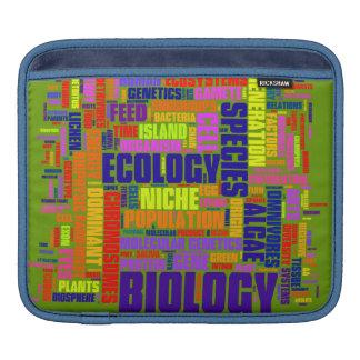 Biology Wordle iPad Sleeve