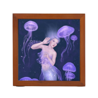 Bioluminescence Mermaid Desk Organizer