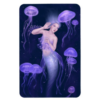 Bioluminescence Mermaid Flexible Magnet