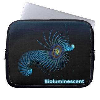 Bioluminescent Alien Sea Creature Laptop Sleeve