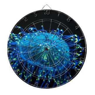 bioluminescent Jellyfish Dartboards