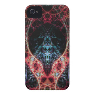 Biomechanica 2 Fractal Design iPhone 4 Cases