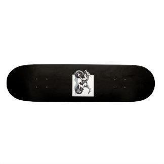 Biomechanical Draconic Trike Skate Board