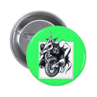Biomechanical Draconic Unicycle Buttons