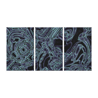 Biomechanical Gallery Wrapped Canvas