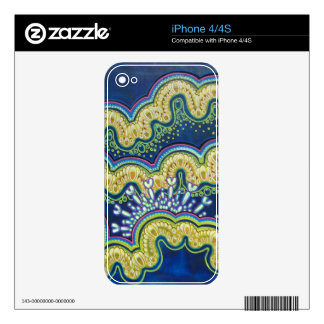 Biomechanical Tide iPhone 4/4S Skin Skins For iPhone 4S
