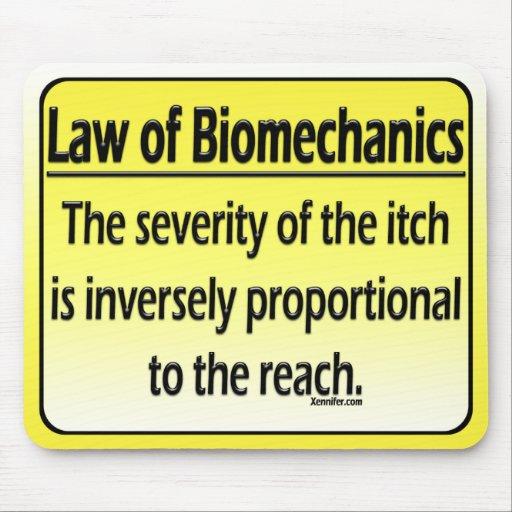 Biomechanics Mousepad