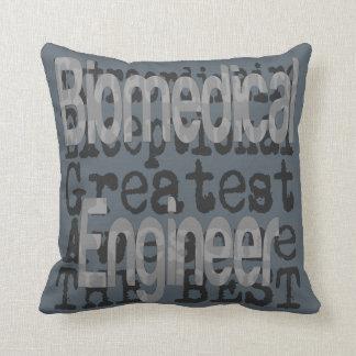 Biomedical Engineer Extraordinaire Throw Pillow