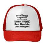 biomedical engineer mesh hat