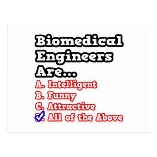 Biomedical Engineer Quiz...Joke Postcard