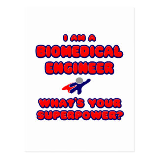 Biomedical Engineer .. What's Your Superpower? Postcard