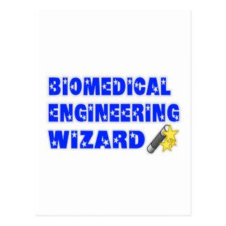 Biomedical Engineering Wizard Postcard