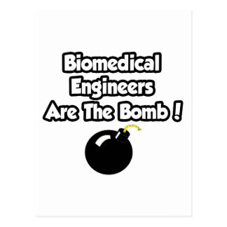 Biomedical Engineers Are The Bomb! Postcard