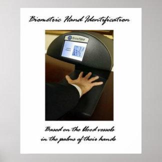 Biometric Hand Identification Posters