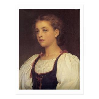 Biondina - Lord Frederick Leighton Postcard