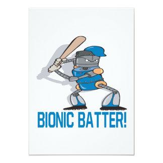 Bionic Batter Card