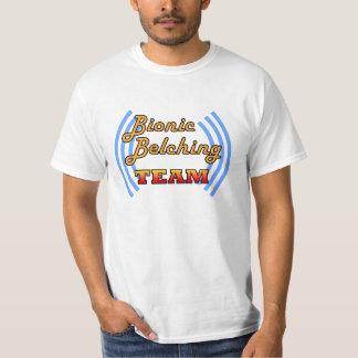 bionic belching team shirt