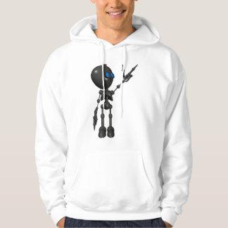 Bionic Boy 3D Robot - Finger Gun 2 - Original Hooded Pullover