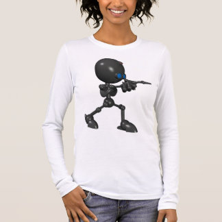 Bionic Boy 3D Robot - Finger Gun - Original Long Sleeve T-Shirt