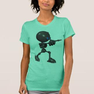 Bionic Boy 3D Robot - Finger Gun - Original T-Shirt