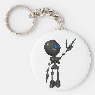 Bionic Boy 3D Robot - Finger Guns 2 - Original Keychain