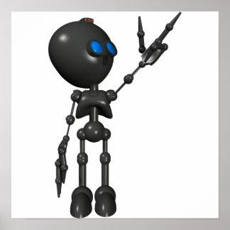 Bionic Boy 3D Robot - Finger Guns 2 - Original Posters