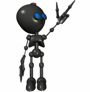Bionic Boy 3D Robot - Finger Guns 2 - Original Statuette