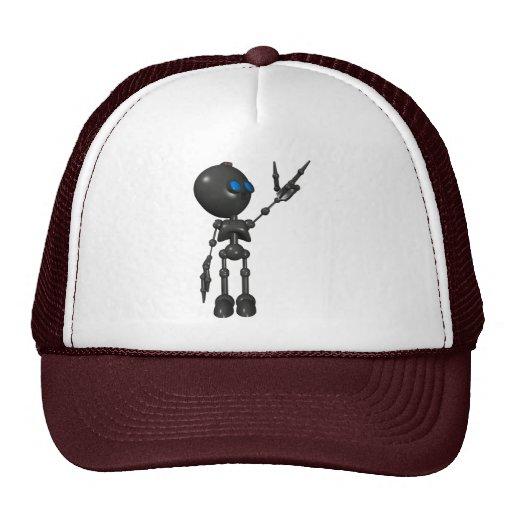 Bionic Boy 3D Robot - Finger Guns 2 - Original Trucker Hat