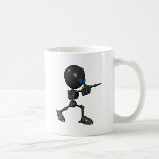 Bionic Boy 3D Robot - Finger Guns - Original Coffee Mug
