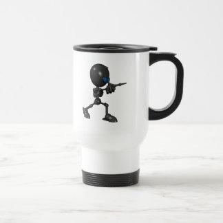 Bionic Boy 3D Robot - Finger Guns - Original Travel Mug