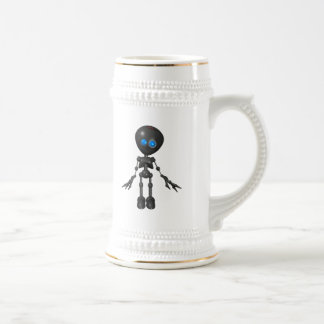 Bionic Boy 3D Robot - Looking Forward Beer Stein