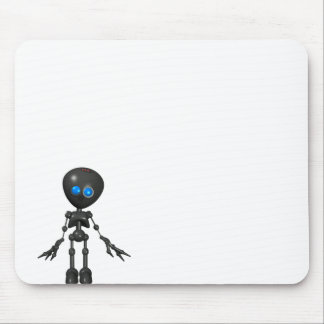 Bionic Boy 3D Robot - Looking Forward Mouse Pad