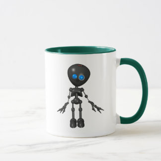 Bionic Boy 3D Robot - Looking Forward Mug