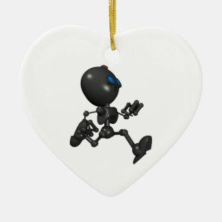 Bionic Boy 3D Robot - Running - Original Ceramic Ornament