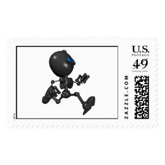 Bionic Boy 3D Robot - Running - Original Stamp