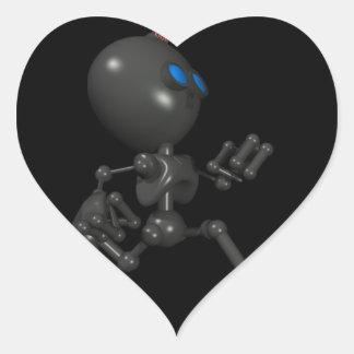 Bionic Boy 3D Robot - Running - Original Sticker