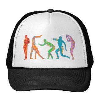 Bionic dance trucker hats