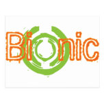 Bionic Edgy Logo Tees and Gifts Postcard