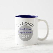 Bionic (knee replacement) mug