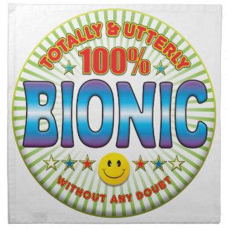 Bionic totalmente servilletas de papel