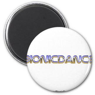 BionicDance 2 Inch Round Magnet