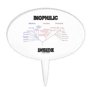 Biophilic Inside Phylogenetic Tree Of Life Cake Topper