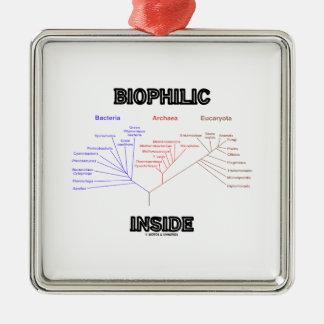 Biophilic Inside Phylogenetic Tree Of Life Metal Ornament